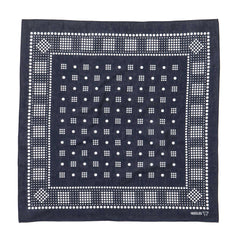 needles Bandana Geometric/Polka dot Navy