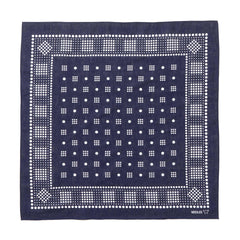 needles Bandana Geometric/Polka dot purple