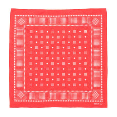 needles Bandana Geometric/Polka dot Red
