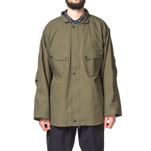 Needles Chemical Protective Jacket C/N Ripstop Peach Olive
