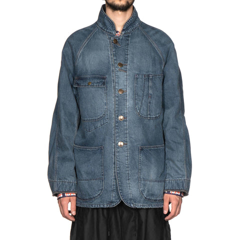 needles Chore Coat 10oz Denim Vintage Indigo