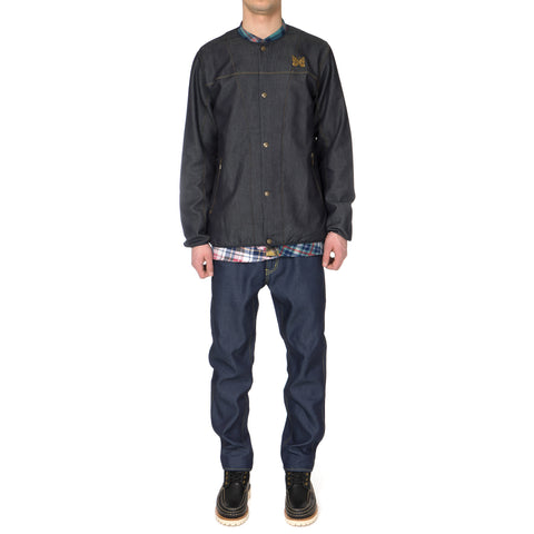 Needles Crew Neck Jean Jacket - Double Cloth
