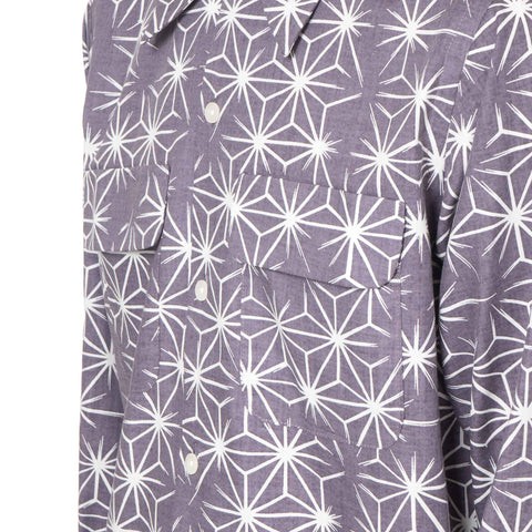 Needles Cut-Off Classic Shirt Edo-Komon Print