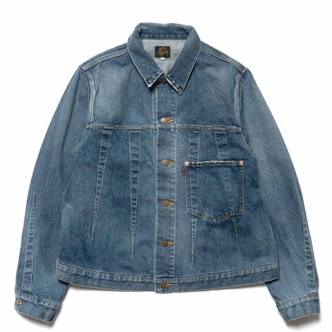needles Darts Jean Jacket 12oz Denim Vintage Indigo