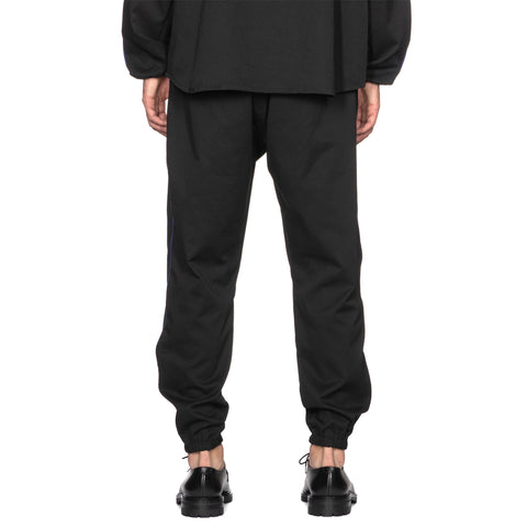 needles Line Seam Pocket Easy Pant Poly Smooth Black