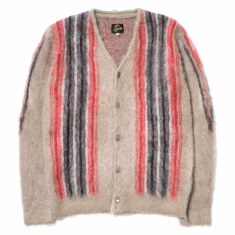 Needles Mohair Cardigan Chimayo Beige