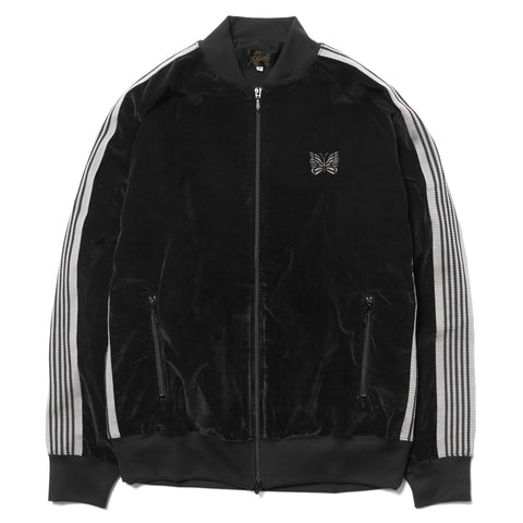 Needles Rib Collar Track Jacket C/R Velour