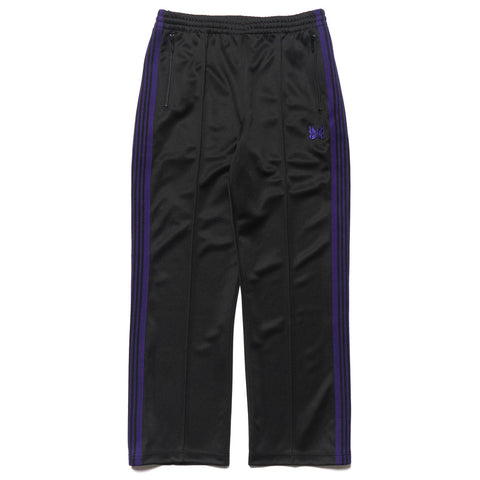 needles Track Pant Poly Smooth Black