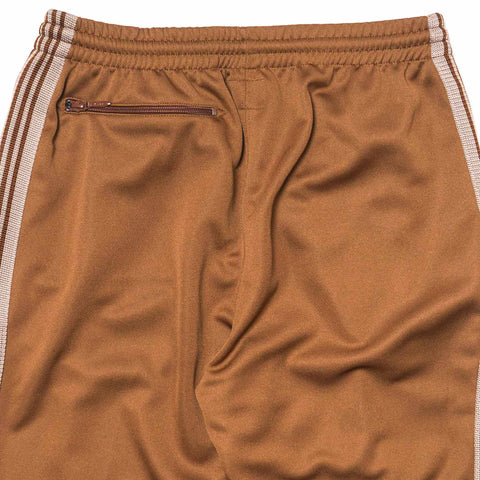 Needles Track Pant Poly Smooth Narrow Brown