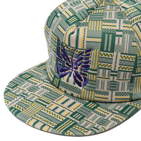 Needles Trucker Cap Poly Block Ivy/Green/Yellow, Headwear