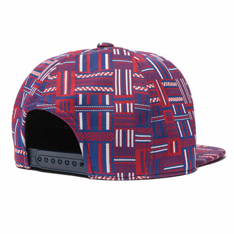 Needles Trucker Cap Poly Block Navy/Red/White