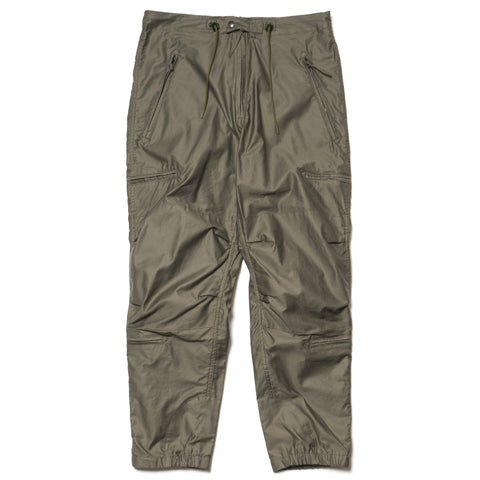 Needles Zipped BDU Pant Cotton Moleskin Olive