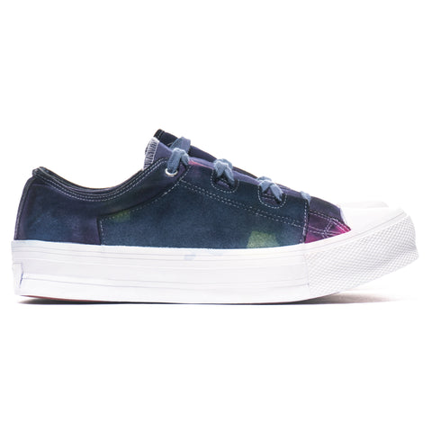 Needles Asymmetric Ghillie Sneaker Purple/Yellow