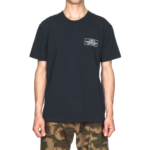 NEIGHBORHOOD BAR / C-Tee . SS Navy
