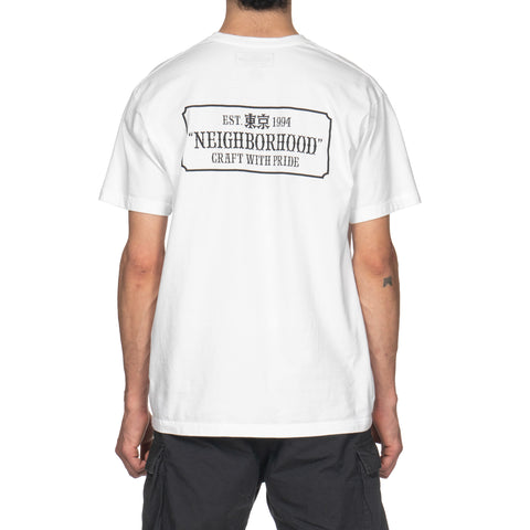 NEIGHBORHOOD BAR / C-Tee . SS White