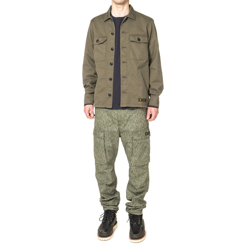 NEIGHBORHOOD BDU / C-Shirt . LS Olive Drab
