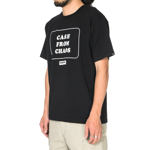 Neighborhood Cash From Chaos / C-Tee . SS Black