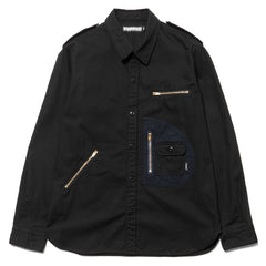 neighborhood D.P. / C-Shirt . LS Black