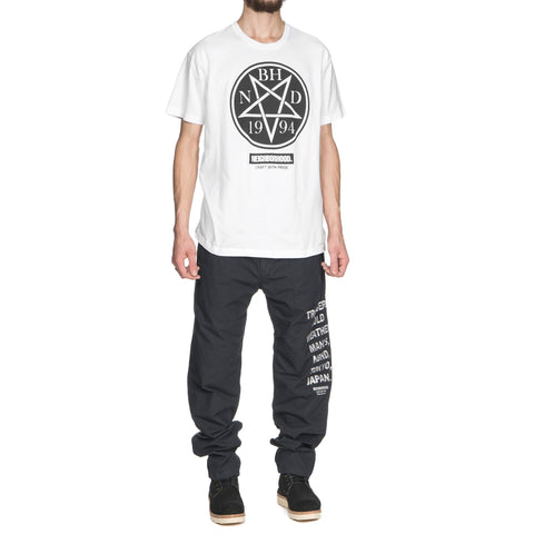 NEIGHBORHOOD Dead / C-Tee . SS White