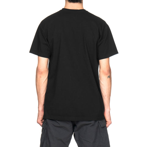 NEIGHBORHOOD EM / C-Tee . SS Black