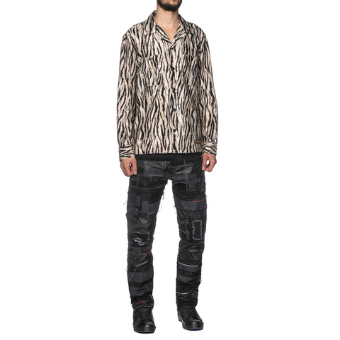 NEIGHBORHOOD Fur / R-Shirt . LS Zebra