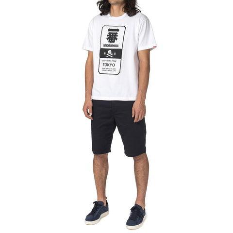 NEIGHBORHOOD Ichiban / C-TEE . SS White
