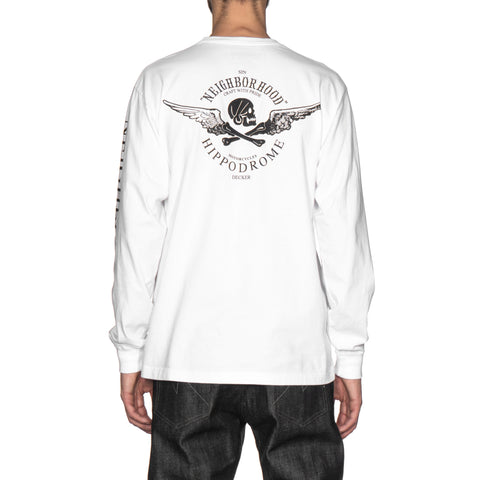 neighborhood JDNH / C-Tee . LS white