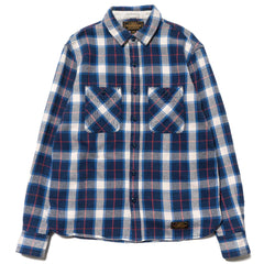 Neighborhood Lumbers / C-Shirt . LS Blue