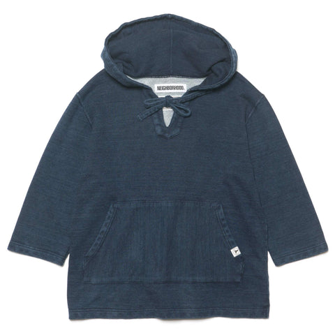 NEIGHBORHOOD MEX Parka . ID / C-Hooded . 3Q Indigo