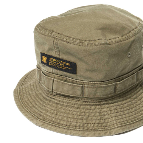 NEIGHBORHOOD Mil-Boonie / C-Hat Olive Drab