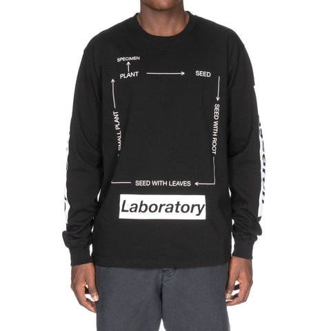 NEIGHBORHOOD SRL . Roots / C-Tee . LS Black