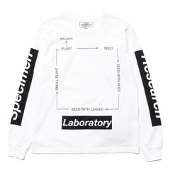 NEIGHBORHOOD SRL . Roots / C-Tee . LS White