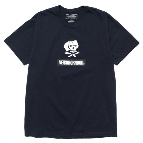 Skull and Bones / C-Tee . SS Navy