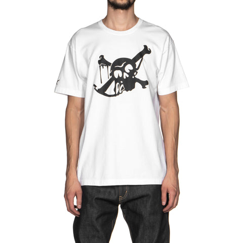 neighborhood Skull and Bone / C-Tee . SS white