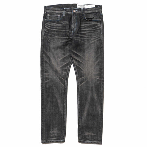 neighborhood Washed . DP Narrow/ 14 Oz-PT Black