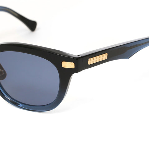 """Nelson"" Sunglasses Black & Blues"