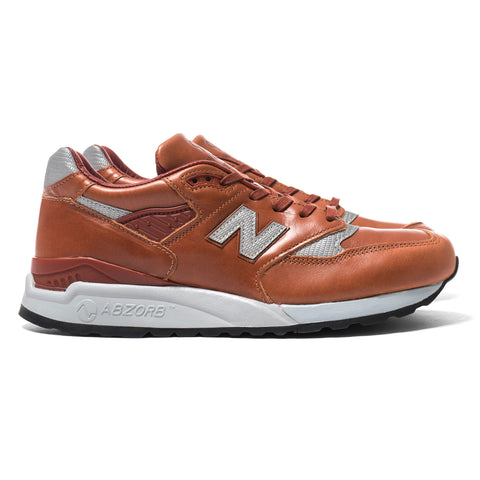 New balance x Horween Leather Co. M998BESP