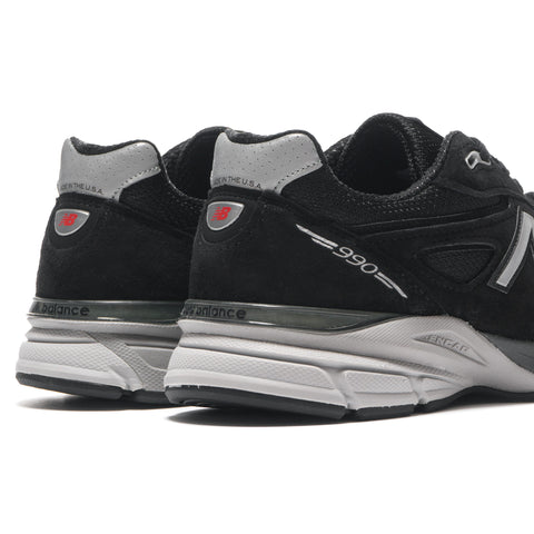 new balance M990BK4 Black/Silver
