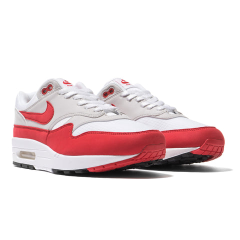 Nike Air Max 1 Anniversary White / University Red