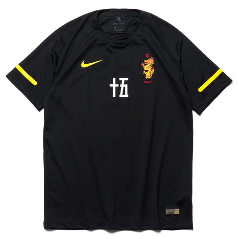 Nike x Clot Soccer Jersey Black/Tour Yellow