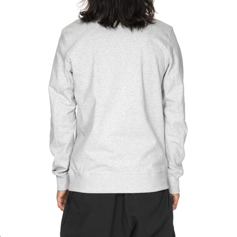 nike Nikelab Essentials Fleece Crew Gray Heather