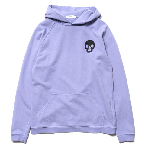 nonnative Dweller Hoody Cotton Sweat Overdyed for Face -Its a Feeling- Lilac