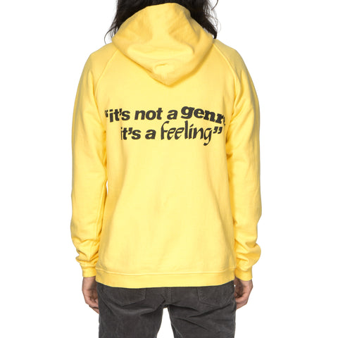 nonnative Dweller Hoody Cotton Sweat Overdyed for Face -Its a Feeling- Yellow