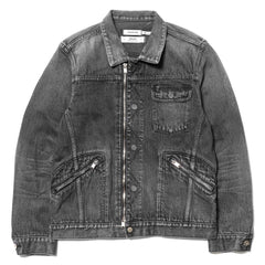 "nonnative x HAVEN Worker Jacket Cotton 13oz Selvedge Denim VW ""Russell"" Black"