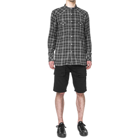 nonnative Trooper Shorts Cotton Herringbone