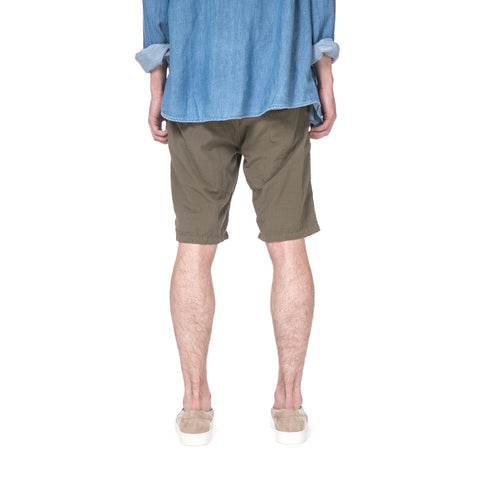 nonnative Trooper Shorts Cotton Ripstop Overdyed Olive