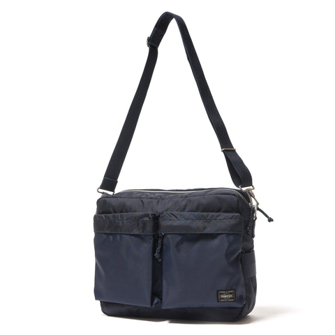 Porter Force Shoulder Bag (L) Navy