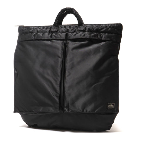 PORTER Tanker 2Way Helmet Bag Black ... 55bee0bbd5