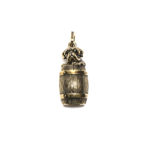 peanuts and co. Bull Bottle Stone(Brass)