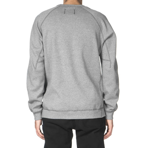 Reigning Champ Bonded Interlock Crewneck Moraine